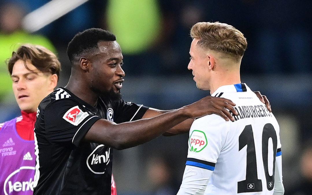 Rassismus-Skandal überschattet schwachen HSV-Auftritt
